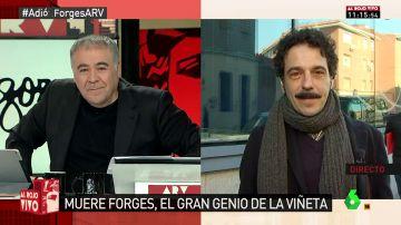 """Darío Adanti: """"Forges nos deja mientras se cuestiona la libertad de expresión en España. Hasta en eso se va siendo un símbolo"""""""
