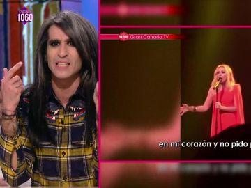 La defensa de Mario Vaquerizo a Marta Sánchez y a su himno de España