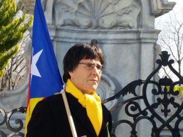 Joaquín Reyes caracterizado como Puigdemont en un sketch para El Intermedio