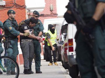 Uno de los detenidos por su supuesta relación con los atentados de Barcelona y Cambrils