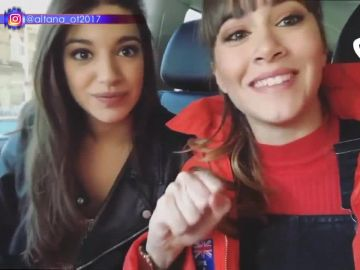 El mensaje de Aitana y Ana Guerra a Cristina Pedroche y Anna Simon antes de hacer 'Lo malo' en TCMS