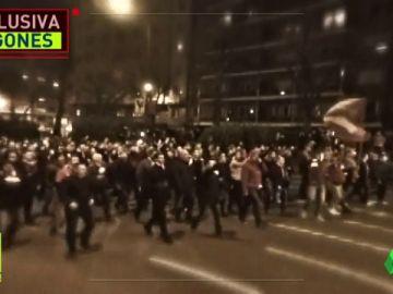 Nos infiltramos con los ultras en Bilbao