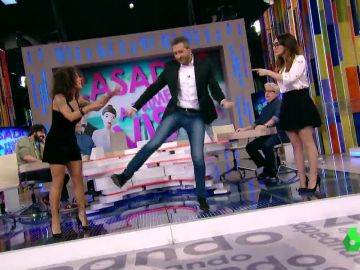 Frank Blanco baila en Zapeando
