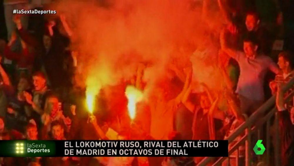 Los ultras de Lokomotiv y Marsella preocupan ante los partidos contra Atlético de Madrid y Athletic