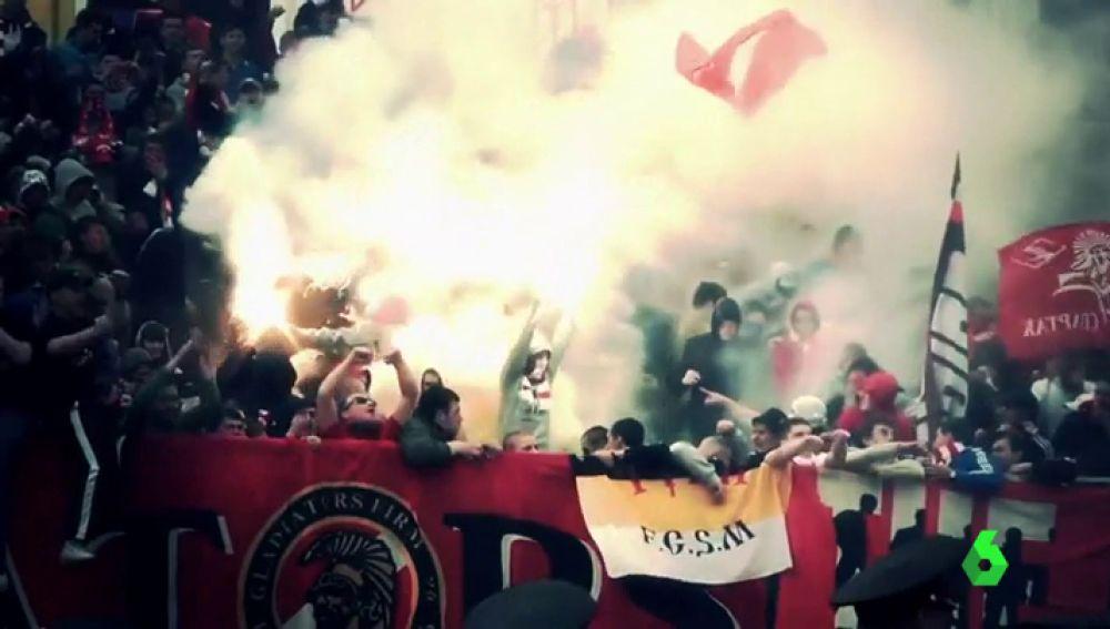 Los ultras del Spartak: xenófobos, ultraderechistas y extremadamente violentos