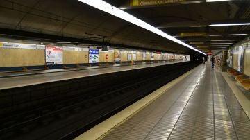 La estación de Campanar-La Fe de Metro de Valencia