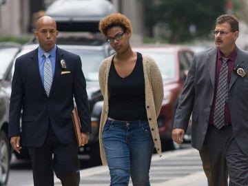 Tina Rodríguez, ahora de 21 años, e declaró culpable de homicidio involuntario