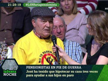 José Gil Romero, pensionista de Sevilla