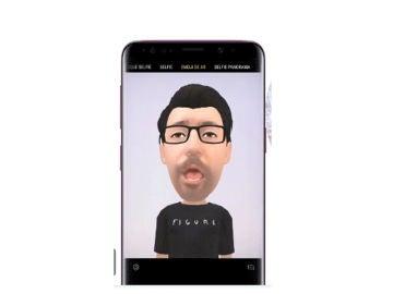 Emojis en AR con el Samsung Galaxy S9