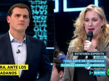 Albert Rivera y Estefanía Expósito