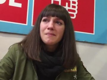 Sandra Carrasco, hija del concejal socialista asesinado por ETA