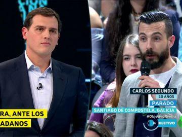 Rivera y Carlos Segundo en El Objetivo