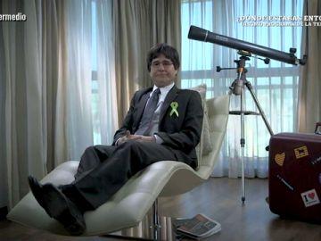 Joaquín Reyes, como Carles Puigdemont
