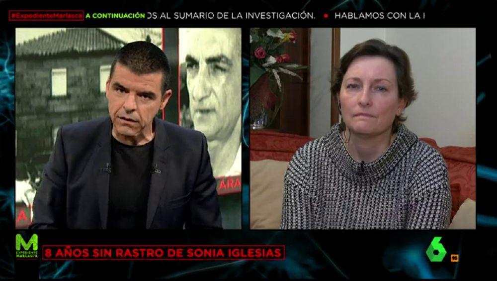 Carmen Iglesias, hermana de Sonia