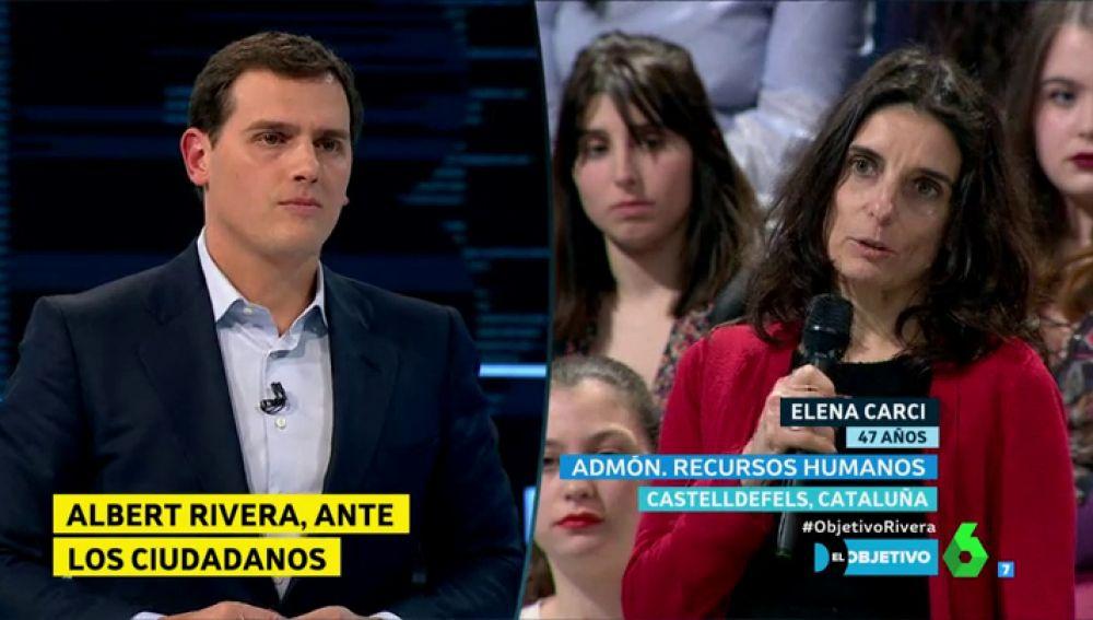 Albert Rivera y Elena Carci