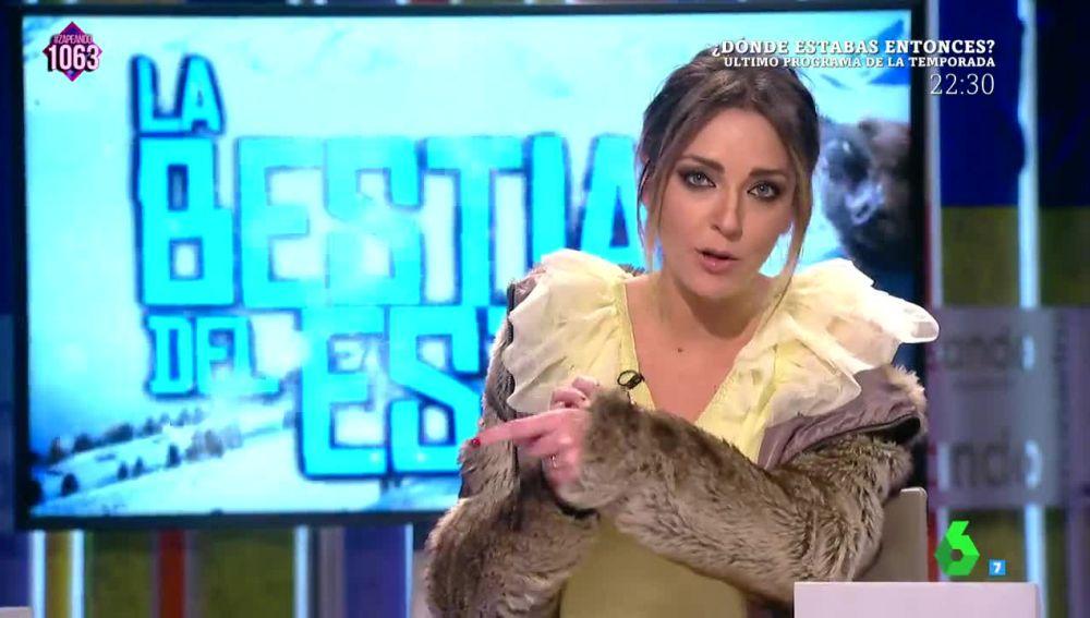 Anna Simon aclara de qué es su abrigo tras las críticas en las redes sociales