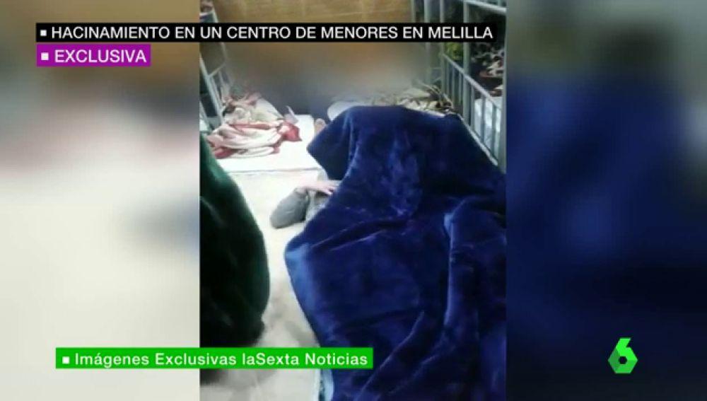 Las inhumanas condiciones de un centro de menores de Melilla: 500 niños hacinados sin cama, sin comida y sin agua caliente
