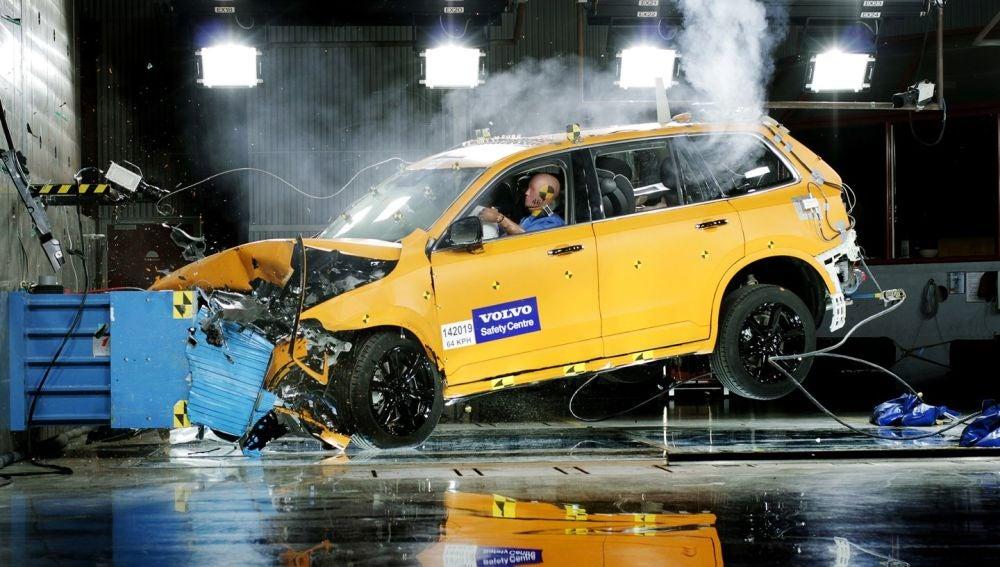Prueba EuroNCAP Volvo