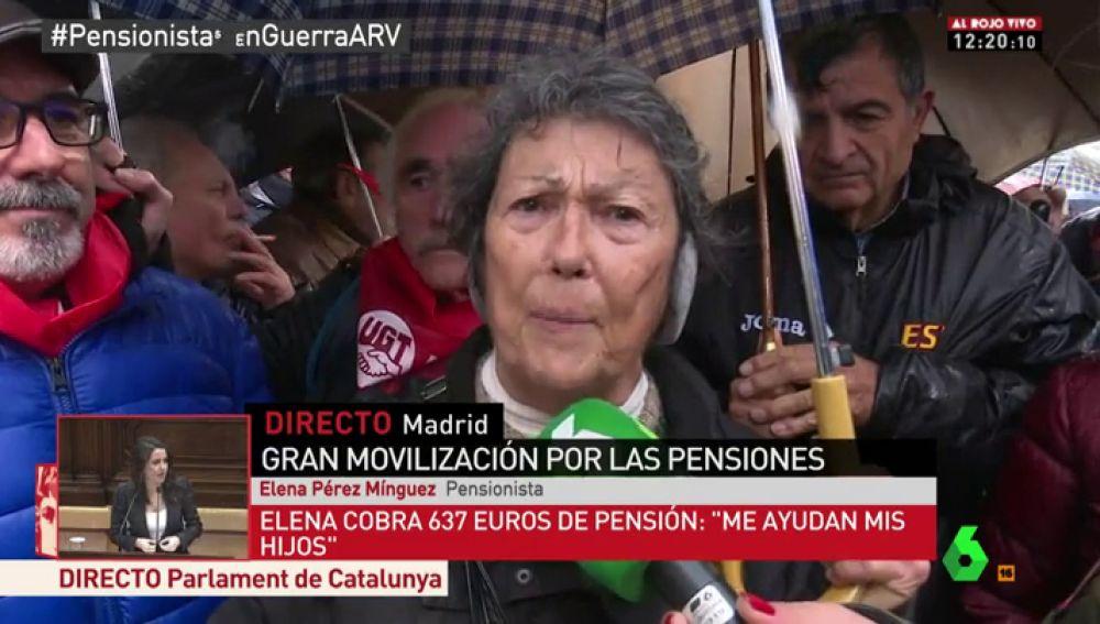 Elena, pensionista