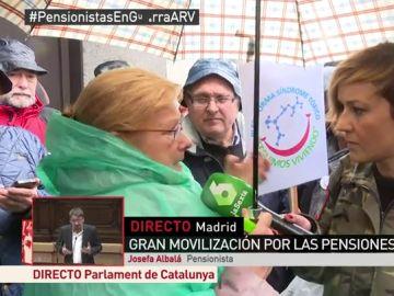 Josefa, pensionista