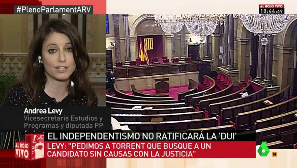 Andrea Levy, en Al Rojo Vivo