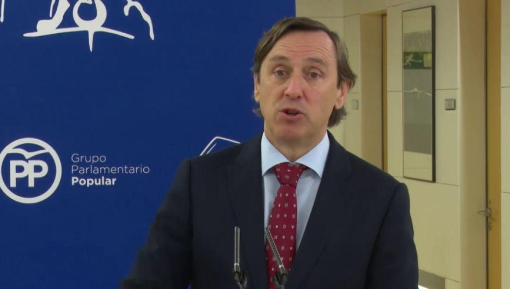 Hernando (PP) defiende la Ley de Seguridad Ciudadana porque cree que permite registros en eventos deportivos