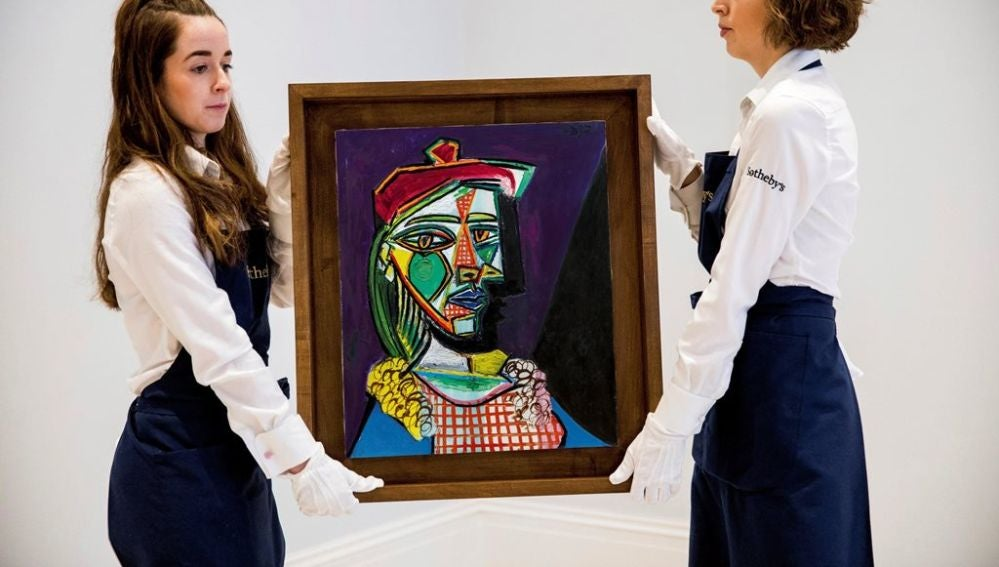 Marie-Thérèse Walter, pintura de Picasso vendida por 56,7 mmilones de euros