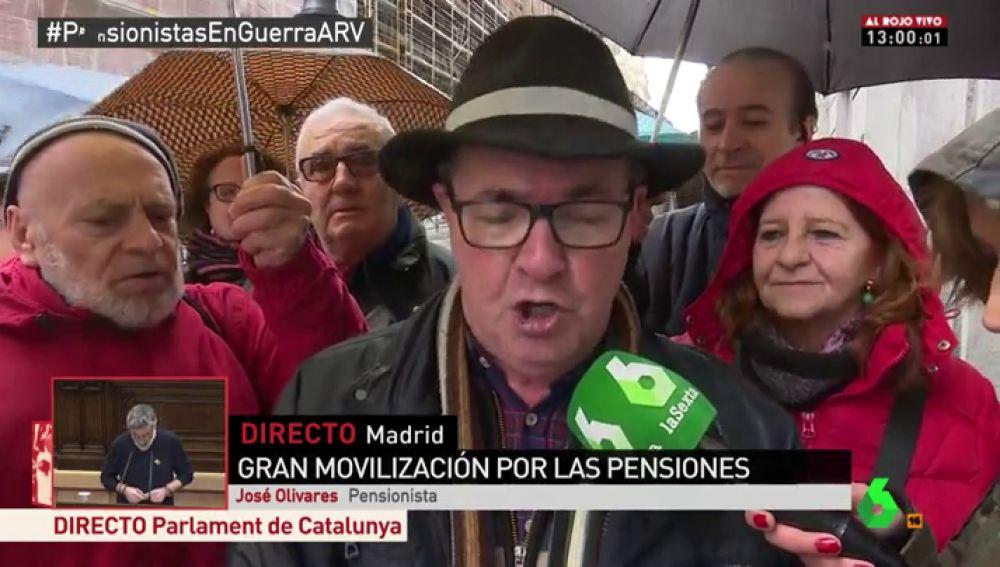 José Olivares, pensionista