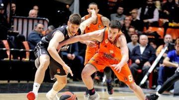 Momento del Valencia Basket - Brose Bamberg