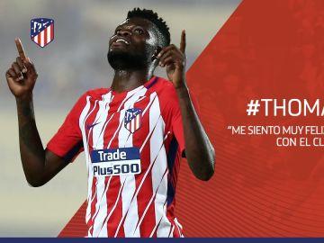 Thomas Partey renueva con el Atlético