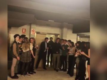La sorpresa de Raúl a su hijo