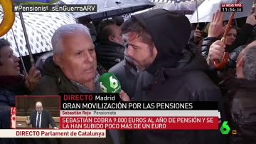 Sebatián Rojo, pensionista