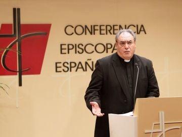Gil Tamayo, presidente de la Conferencia Episcopal