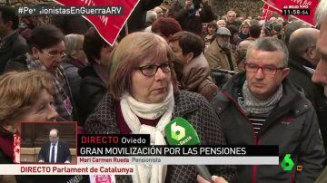 Mari Carmen, pensionista