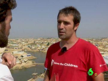 Javier García, Save The Children