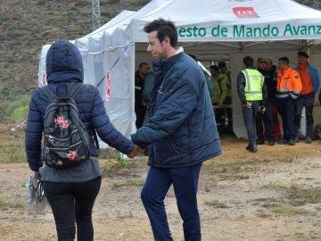 El padre del menor desaparecido en el paraje de las Horticuelas en Nijar