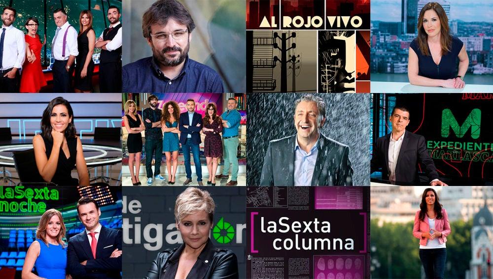 Imagen de los programas de laSexta