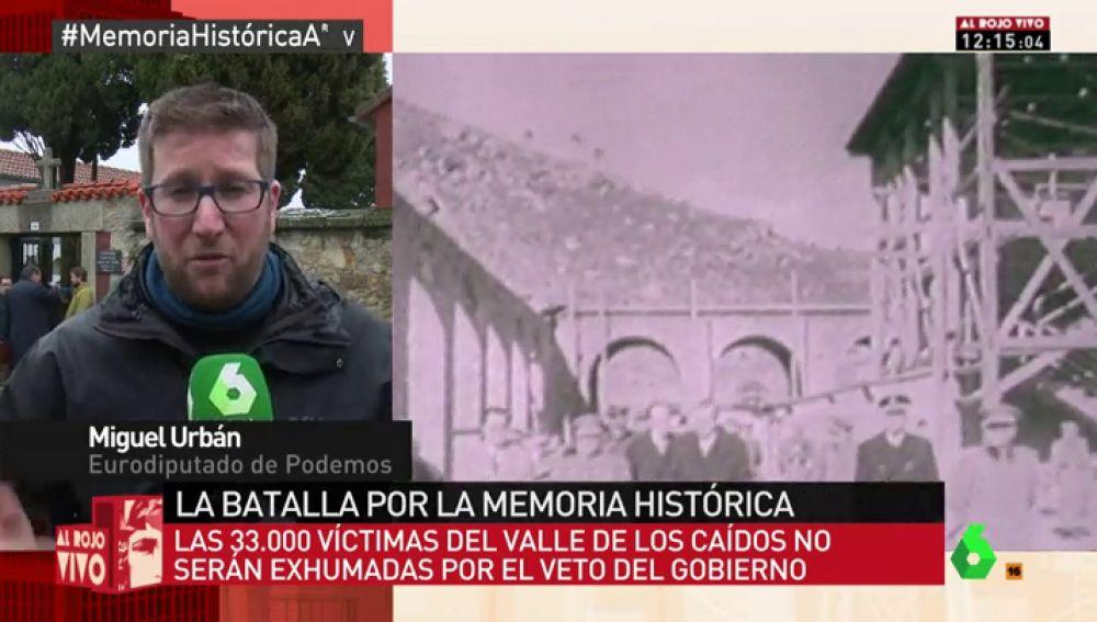 Miguel Urbán, en Al Rojo Vivo