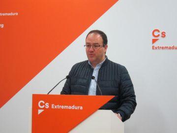 Cayetano Polo, portavoz de Ciudadanos en Extremadura