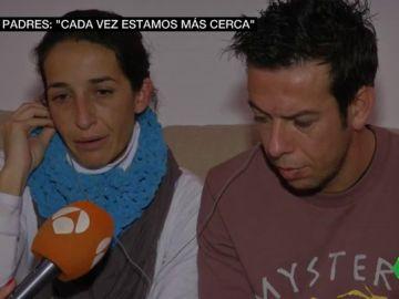 Los padres de Gabriel, el niño desaparecido en Níjar