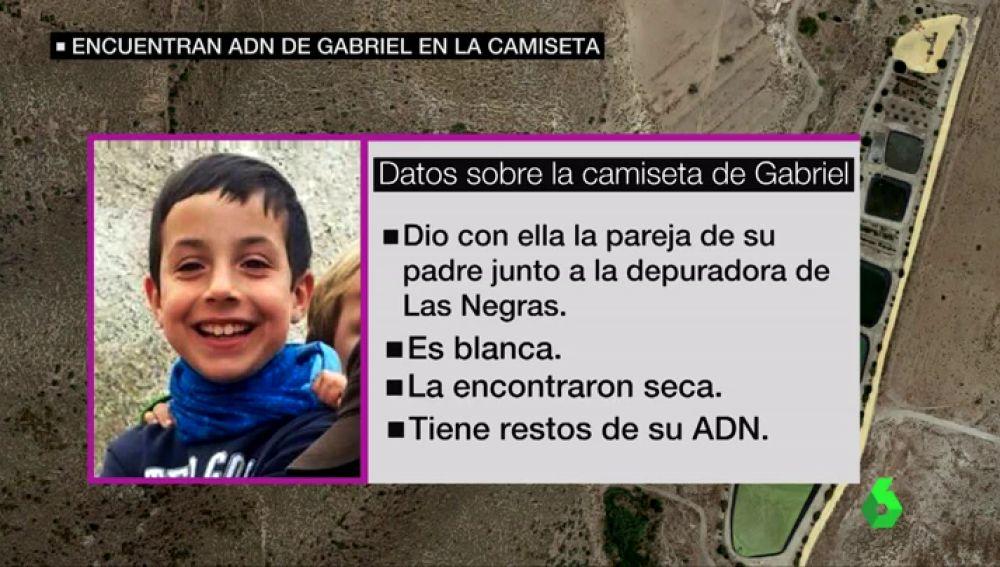Zoido confirma que la camiseta hallada cerca de una depuradora en Níjar tiene ADN de Gabriel