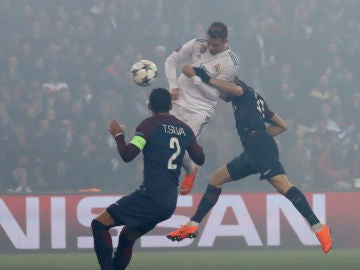 Remate de gol de Cristiano Ronaldo