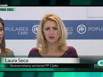 Laura Seco, vicesecretaria sectorial del PP Cádiz