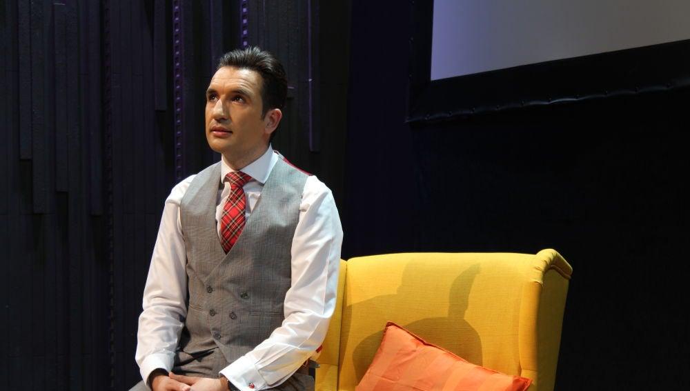 Miguel Lago, en su nuevo espectáculo en Madrid