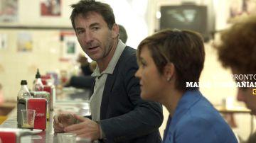 Cristina Pardo y Antonio de la Torre
