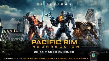 Concurso 'Pacific Rim: Insurrección'