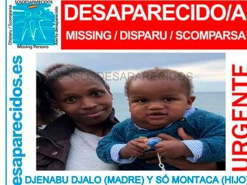 Se busca a Montaca, un niño de diez meses, y a su madre, desaparecidos en Santander