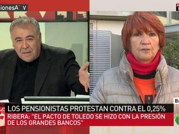 Conchita Ribera, de 'Marea pensionista'