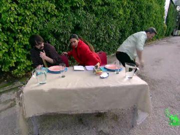 Quique Peinado, Cristina Pedroche y Miki Nadal en Zapeando