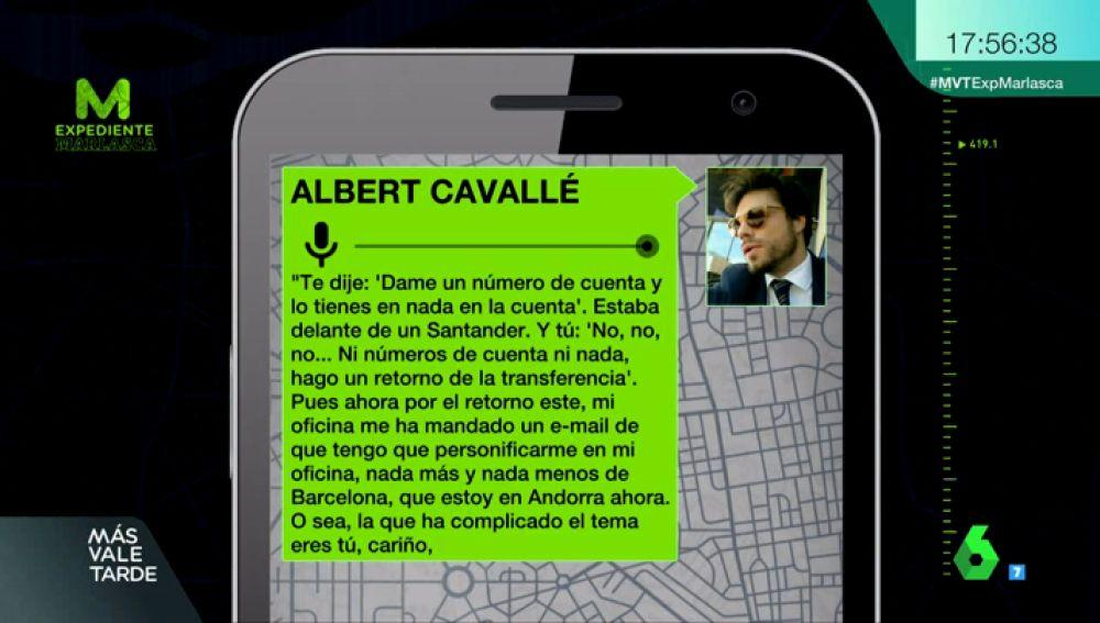 Albert Cavallé, el joven de Barcelona acusado de estafar a más de 20 mujeres